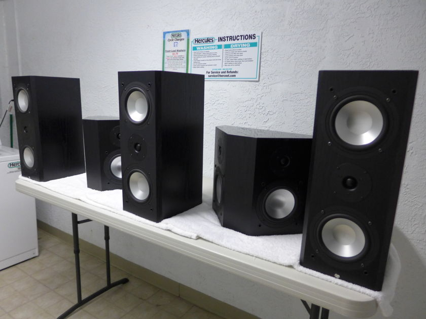 RBH SIGNATURE SERIES 5.1 5 MATCHED SPK FOR SURROUND SOUND