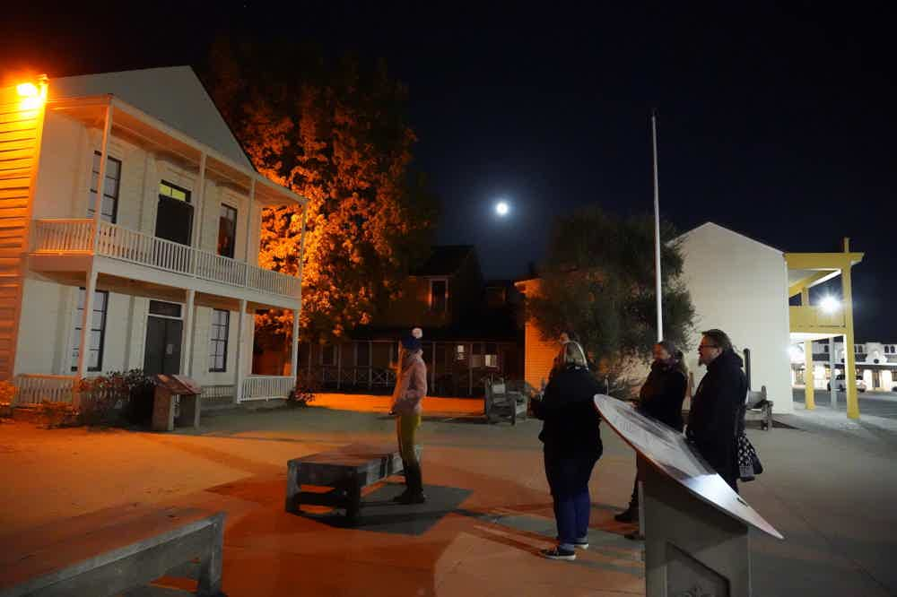Sonoma Plaza Haunted Walking Tour