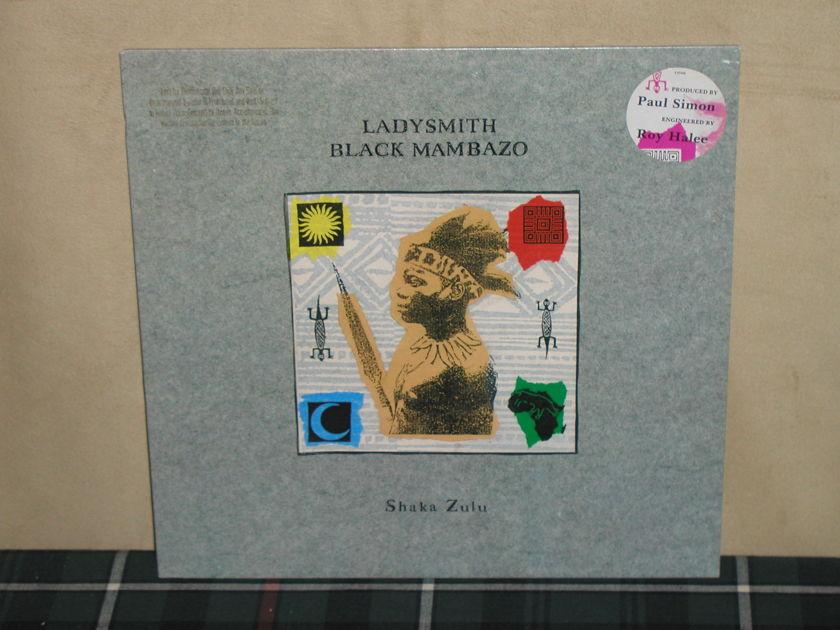 Ladysmith Black Mambazo - Shaka Zulu PROMO With unique Paul Simon sticker