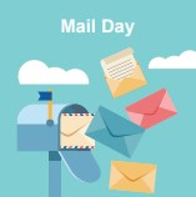 Mail box clip art graphic