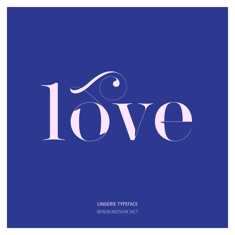 Lingerie Typeface, Lingerie, LOVE, SEXY FONT, BEST FONT 2021, Moshik Nadav, Beautiful fonts, Must have font, swashes, ligatures