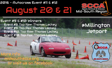 Mid-South Regional Solo Event Weekend 6