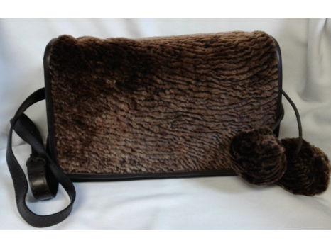 Patricia Nash Sherpa Shoulder Bag/Crossbody