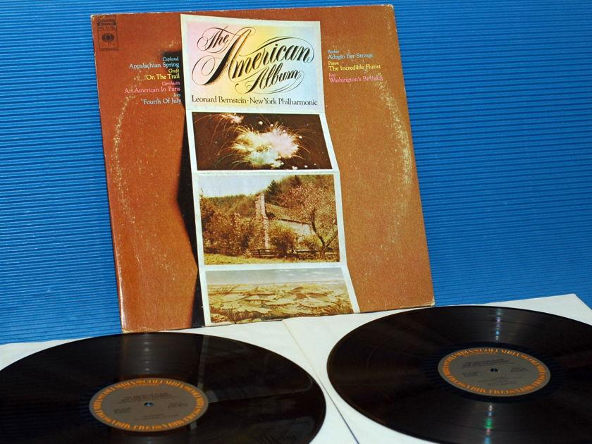 "LEONARD BERNSTEIN/NY Phiharmonic -  - ""The American Album"" -  Columbia Master Works 1972"