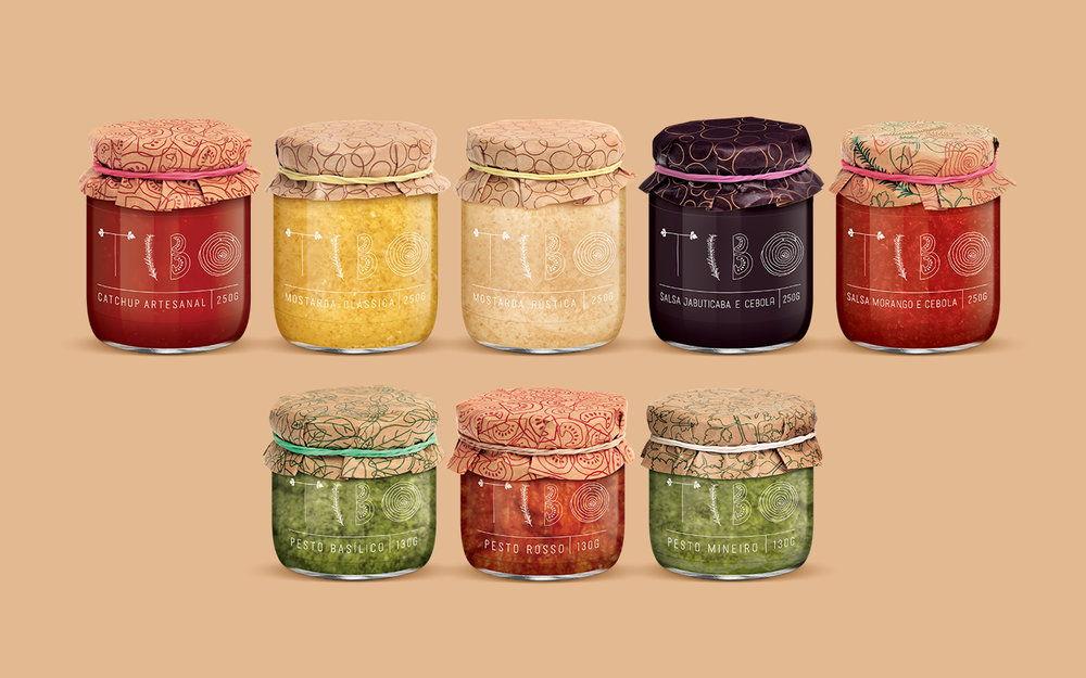 Tibo Glass tibo's packaging was inspiredthe freshest ingredients   dieline