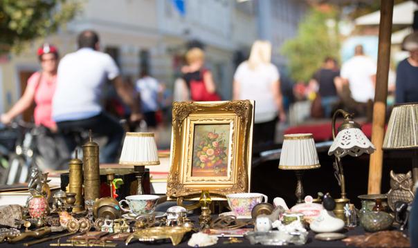 В поход за сокровищами на блошиный рынок