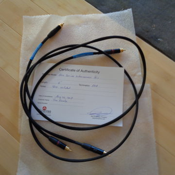Blue Series Interconnect Cable