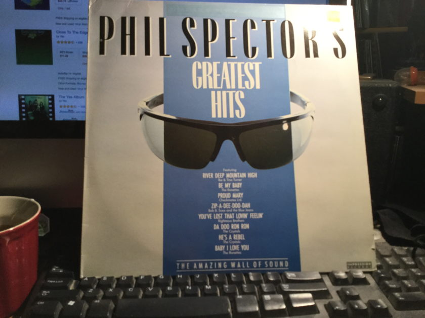 PHIL SPECTOR - GREATEST HITS THE AMAZING WALL OF SOUND Made in England
