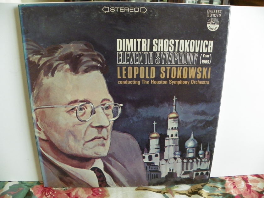 LEOPOLD STOKOWSKI/HOUSTON SYM.ORCH. - ELEVENTH SYMPHONY 1905  NM VERY RARE