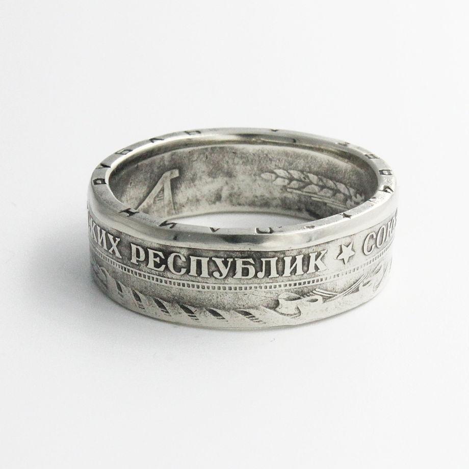 Кольцо из монеты - СССР рубль 1964