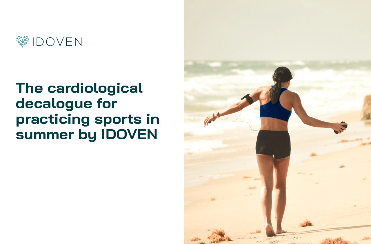 The cardiology decalogue for practising sport in summer by IDOVEN