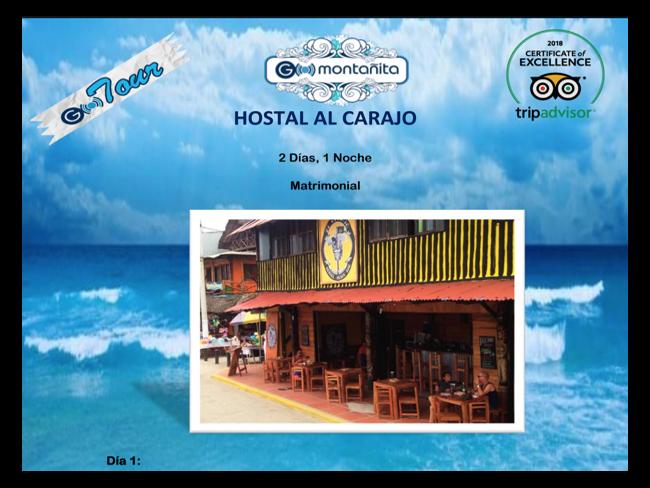 Hostal Al Carajo + Isla de la Plata-