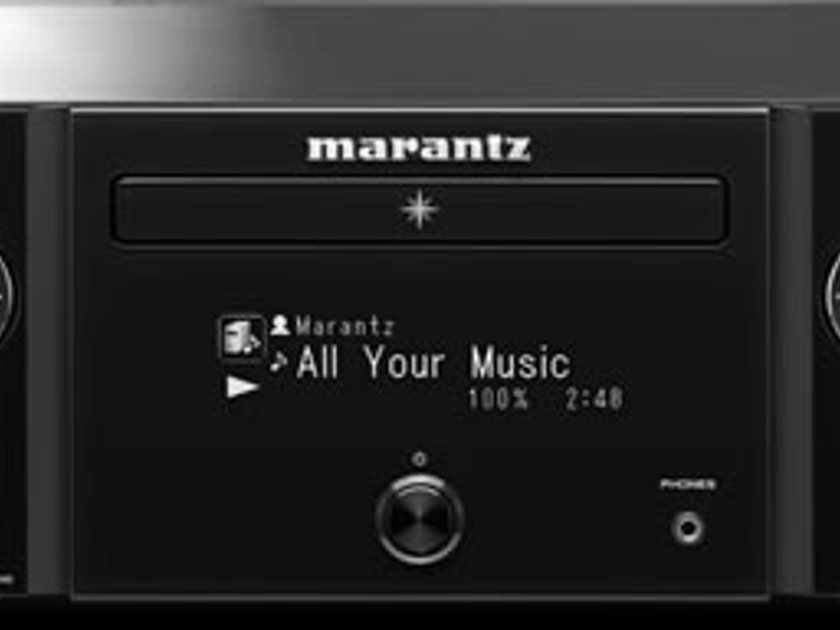 Marantz M-CR610 Wireless Network System  CD Receiver with AirPlay