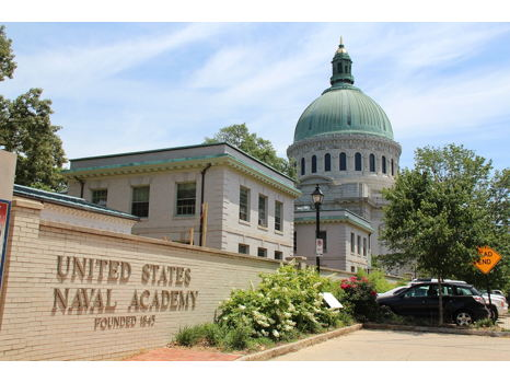 Overnight in Annapolis with Tour of U.S. Naval Academy for Four