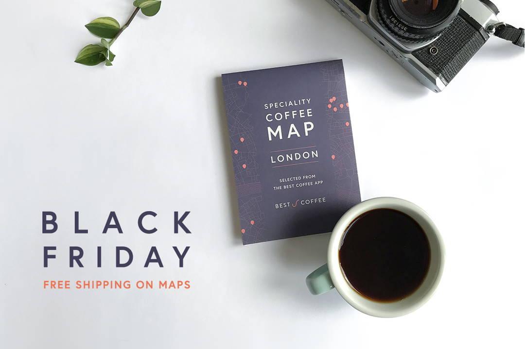 Black Friday: Free Postage on Maps