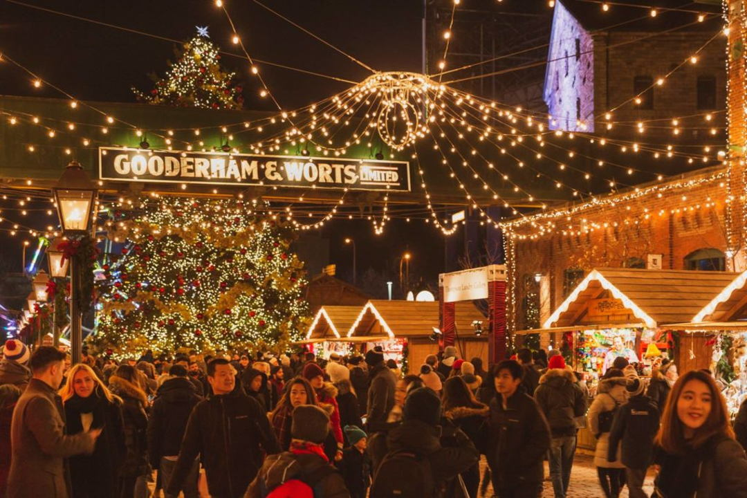 Christmas Market At The Distillery District