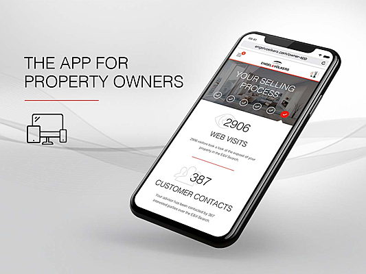Vilamoura / Algarve - Experience full sales process transparency as a property seller with the Engel & Völkers Owner app!