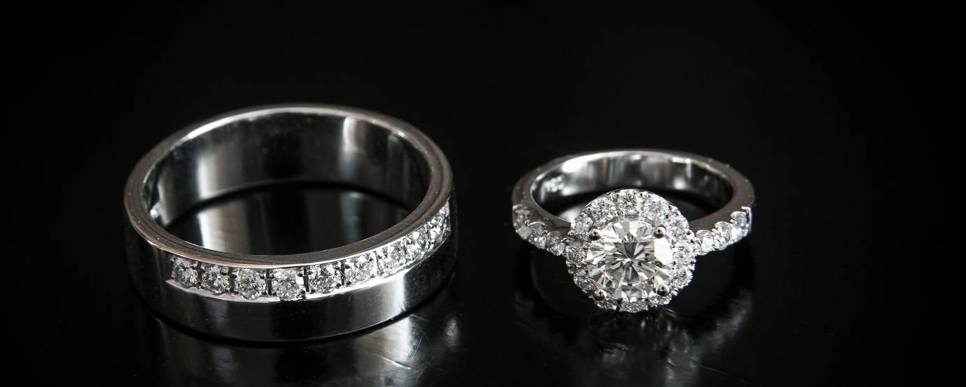 Fabulous diamond eternity and engagement rings from Pobjoy Diamonds