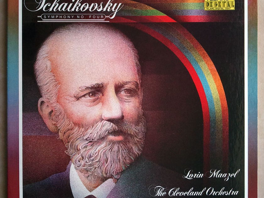 Audiophile TELARC | MAAZEL/TCHAIKOVSKY - Symphony No. 4 / NM