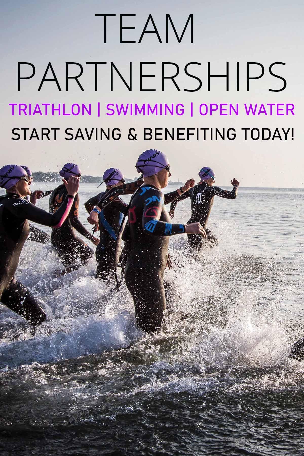 Team Partnership Swimming, Triathlon