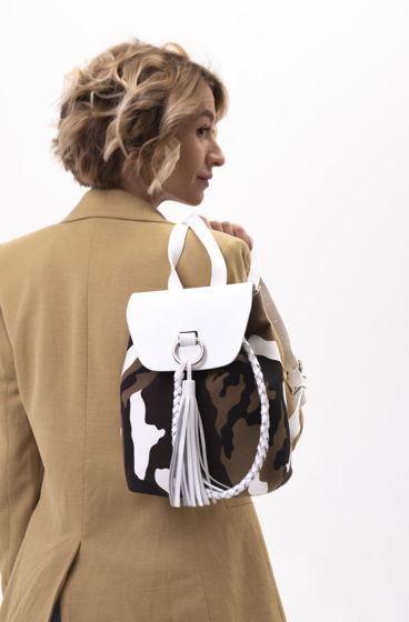 Комуфляжный городской рюкзак Military ручной работы