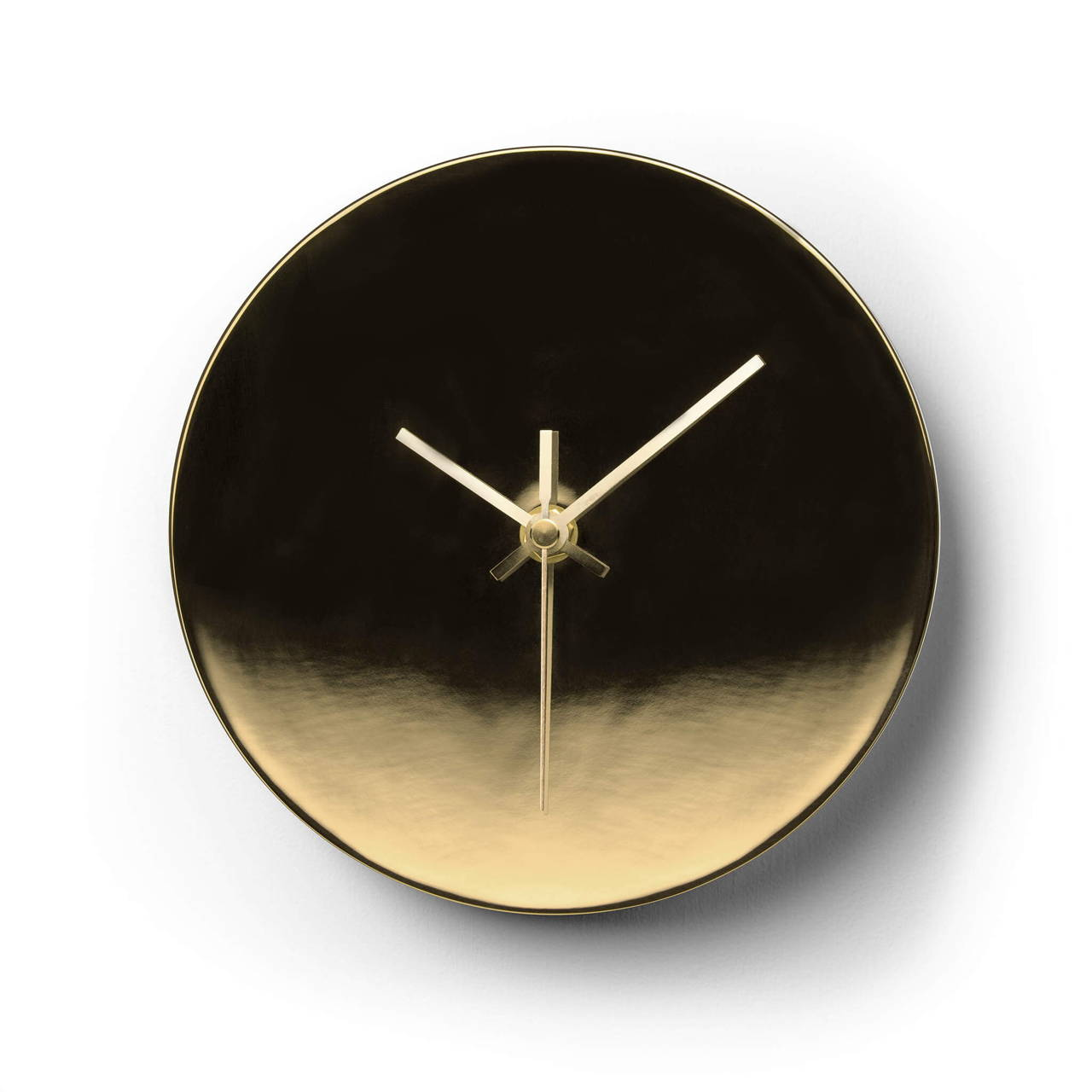 Clock in Gold finish