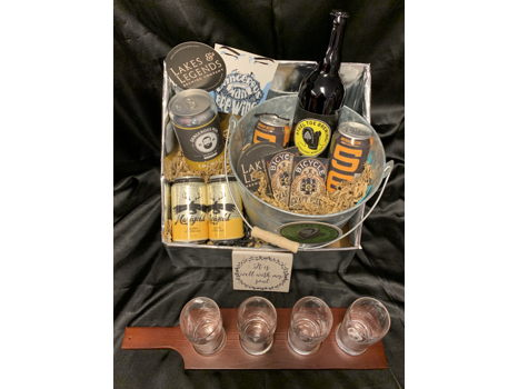Drink Local - Ale Sampler Basket