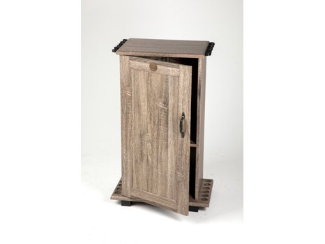 One Door Fishing Storage Cabinet w/ NWTF medallion