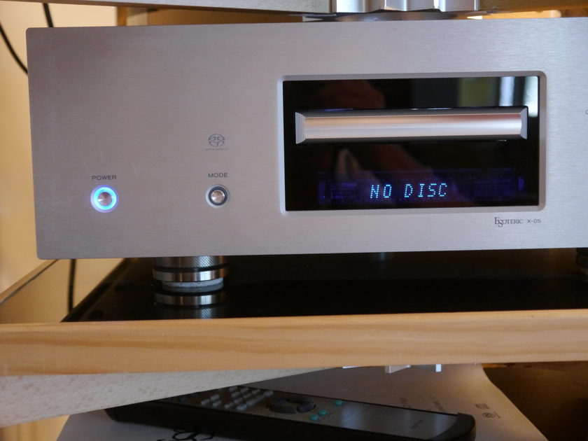 ESOTERIC X-05 SACD Player Price Reduced