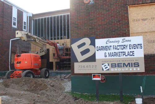 Image for Garment Factory Project to Create Event Center