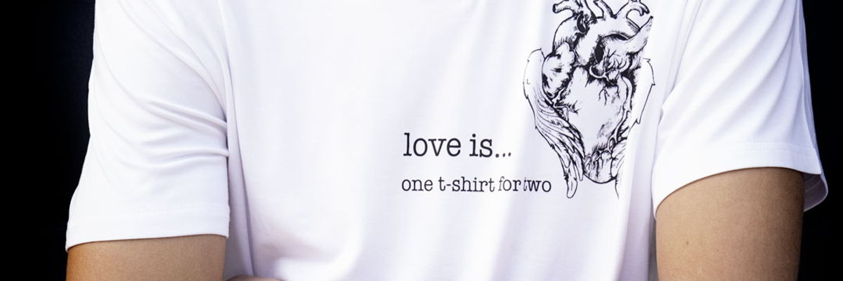 Love is...' photo