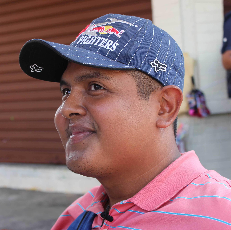 Gun violence survivor David Ernesto Caceres Castro