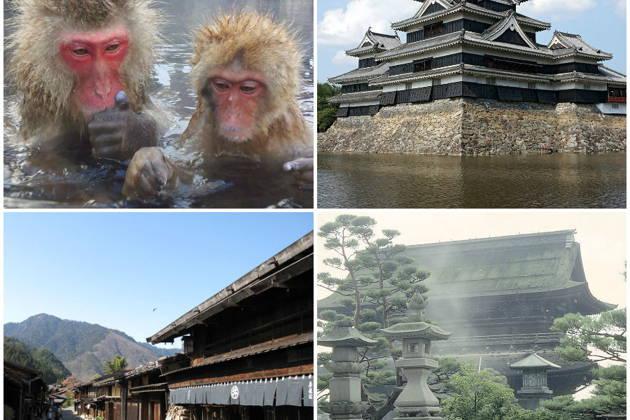 Экскурсия по префектуре Нагано