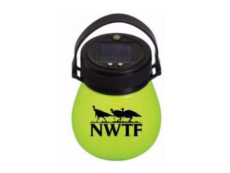Firefly Solar Lantern, Green w/NWTF Logo