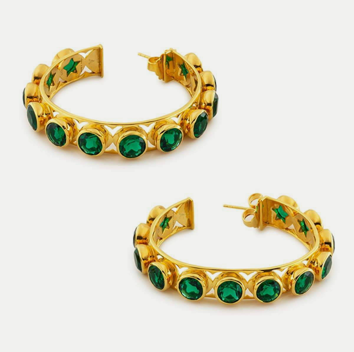 Shari Hoop Earrings