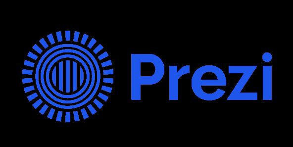 Prezi logo for share