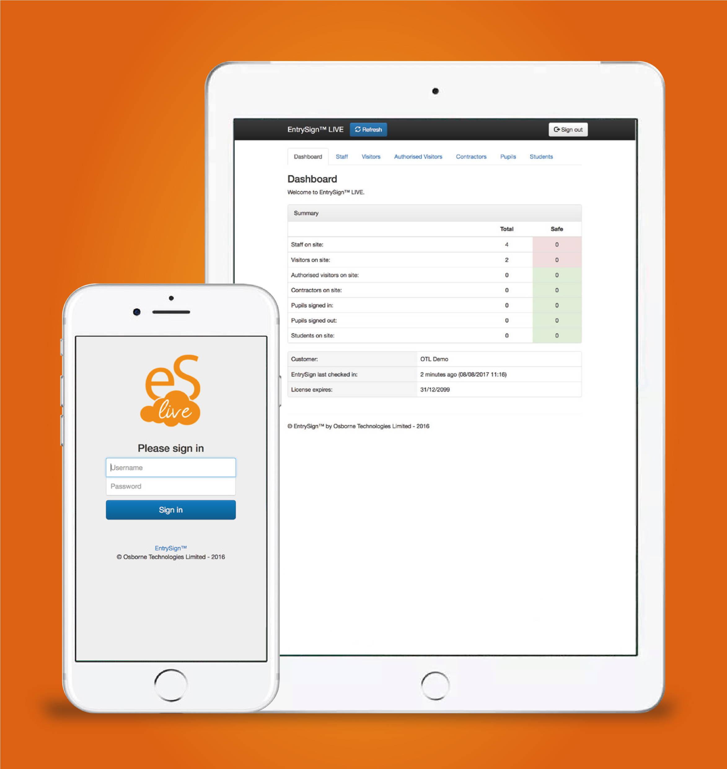 EntrySign Visitor Management – xdigitalmedia