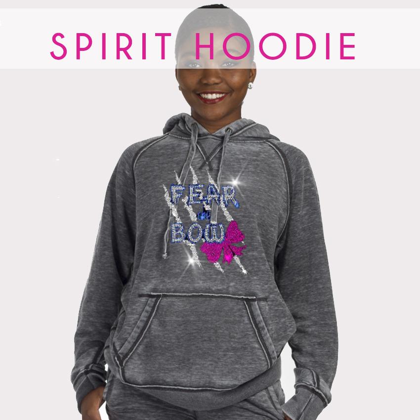 glitterstarz bling basics spirit hoodie grey acid wash soft pullover pockets
