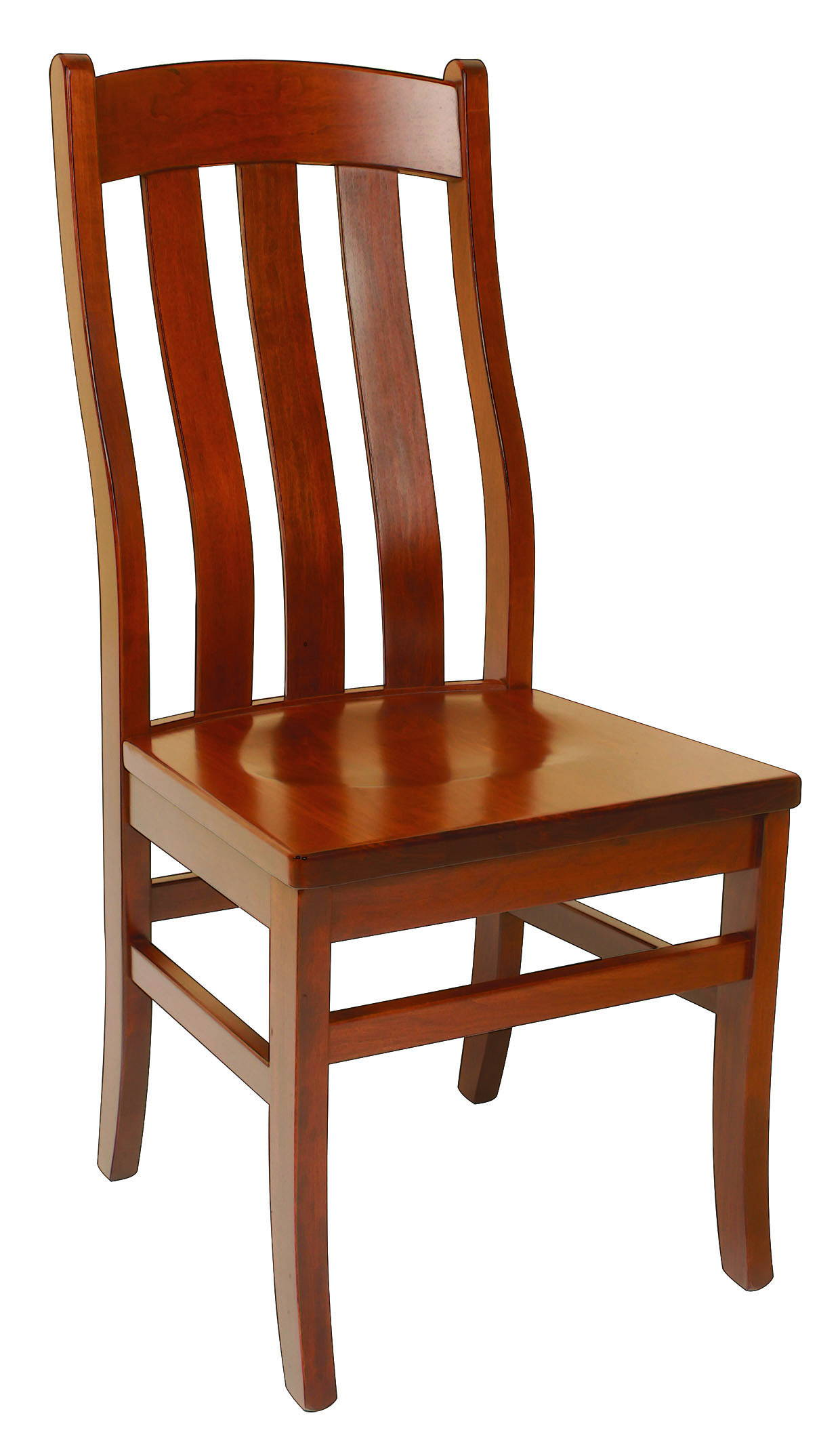 Fostoria Solid Wood, Handcrafted Kitchen Chair or DIning Chair from Harvest Home Interiors Amish Furniture