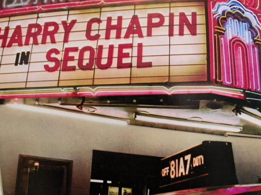 HARRY CHAPIN - BOARDWALK IN SEQUEL NM Pressing