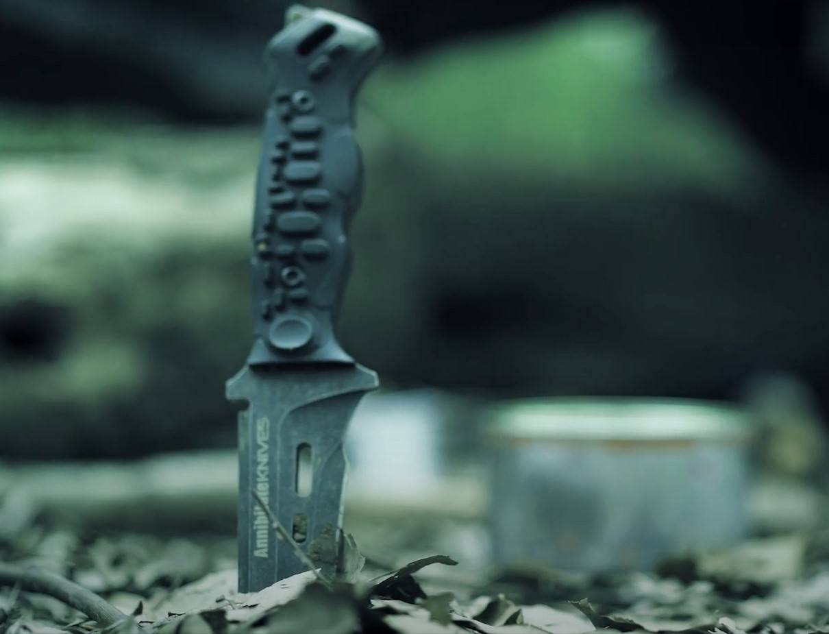 Zune Lotoo Annihilate Knife, Survival Knife, Tactical Knife, EDC Knife, K Sheath, Fully Modular Sheath, G10