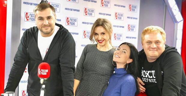 Маша Вебер стала гостьей утреннего шоу «Русские Перцы» на «Русском Радио» - Новости радио OnAir.ru