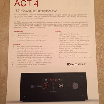 ACT 4 -16 channel