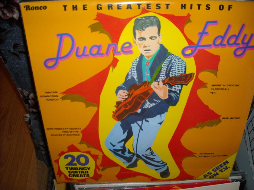 Duane Eddy - Greatest Hits Ronco  LP  (c)