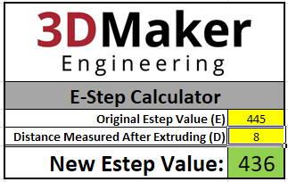 E-Step estep E Step Calibration Calculator