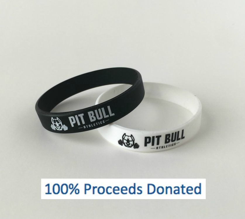 wrist band pit bull