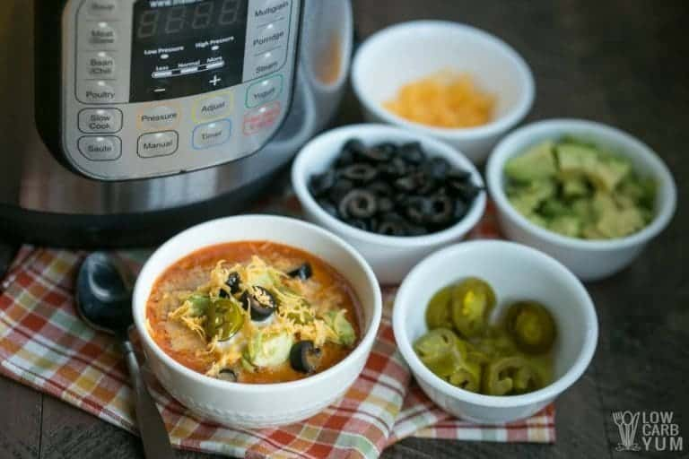 Instant Pot keto recipes: Taco soup