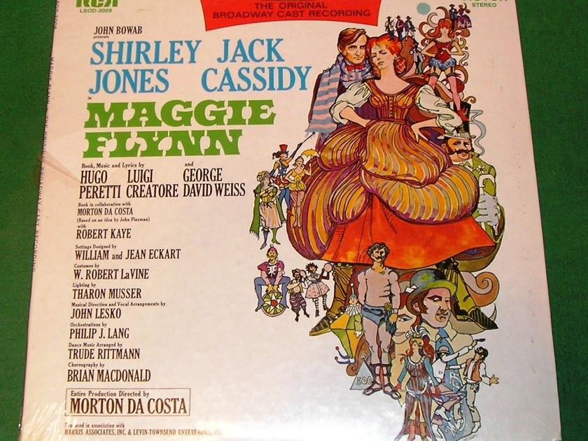 MAGGIE FLYNN - ORIGINAL BROADWAY CAST - * 1968 RCA ORIGINAL PRESS *    NEW/SEALED