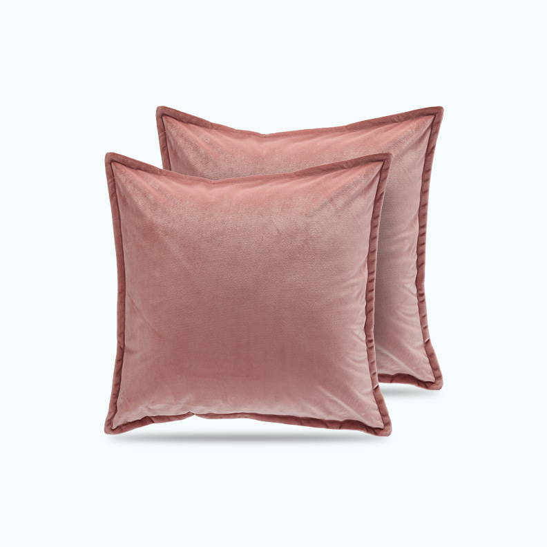 sleep zone bedding website store products collections satin pillowcase velvet throw pillow covers fresh pink