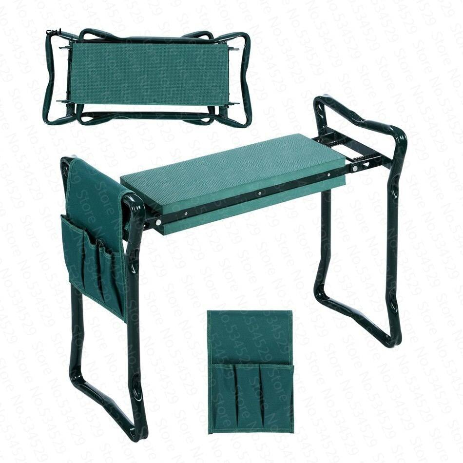 chair-fold-garden-Kneeler-seat-multifunctional-steel-stainless steel-stool-150KG-gardenconfy-details-1